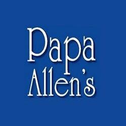 Logo for Papa Allen's Pizza
