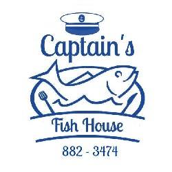 Logo for Captain's Fishhouse
