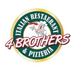 Logo for 4 Brothers Italian Restaurant & Pizzeria