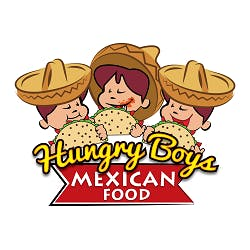 Logo for Hungry Boys Mexican Food