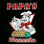 Logo for Rico Rhino's Pizza