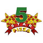 Logo for Five Star Pizza