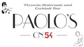 Paolo's on 54 Menu and Takeout in Morrisville NC, 27560
