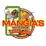 Logo for Mangia's Brick Oven Pizza and Pasta