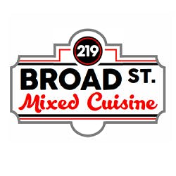 Logo for 219 Broad Street Mixed Cuisine
