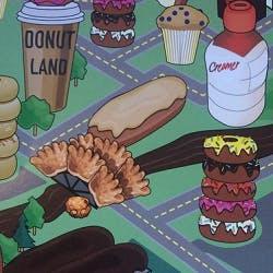 Logo for Donut Land