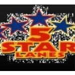 Logo for Opi's 5 Star Lanes