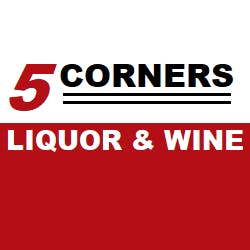 Logo for Five Corners Liquor & Wine