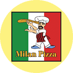 Logo for Milan Pizza