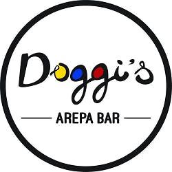 Logo for Doggi's Arepa Bar