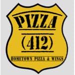 Logo for Pizza 412