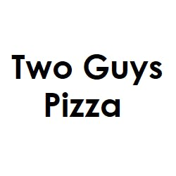Logo for Two Guys Pizza