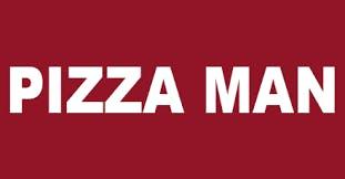 Logo for Pizza Man Restaurant