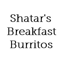 Logo for Shatar's Breakfast Burritos
