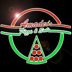 Logo for Amadeo's Pizza - Osuna NE