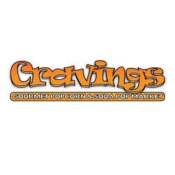 Logo for Cravings Popcorn