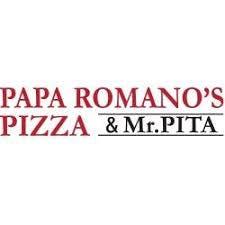 Logo for Papa Romano's Pizza & Mr. Pita Southfield