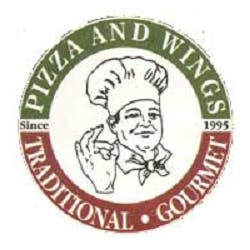 Logo for Papa's Pizza and Wings