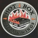Logo for Hot Box Pizza & Wings