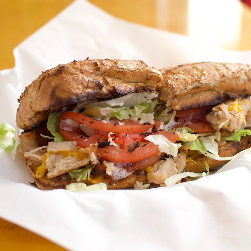 Logo for Potbelly Sandwich Shop - Milwaukee Bayshore Dr