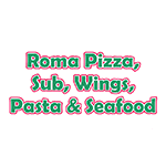 Logo for Roma Pizza, Subs, Wings, Pasta, and Seafood